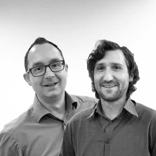 Mark Zimmermann und Harald Schary TROX
